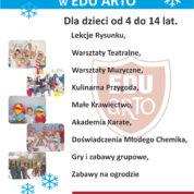Półkolonie Zima 2017