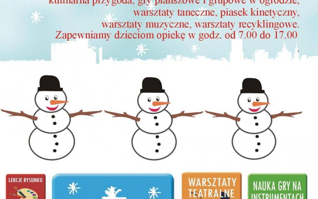 Półkolonie- Zima 2021