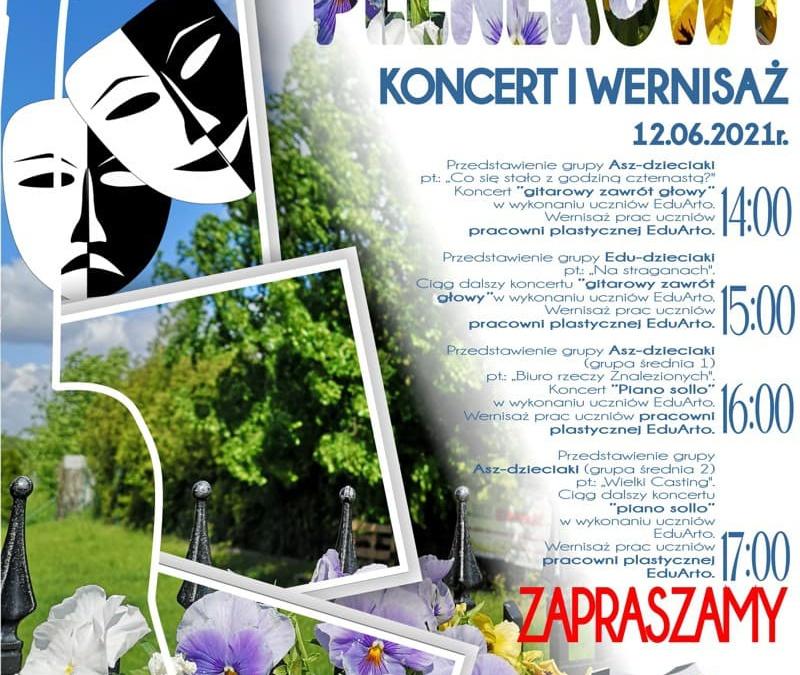 Zaproszenie na Koncert Plenerowy